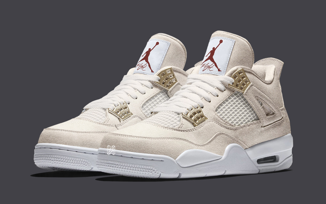 "Concept Lab // Air Jordan 4 ""Cheesecake"""