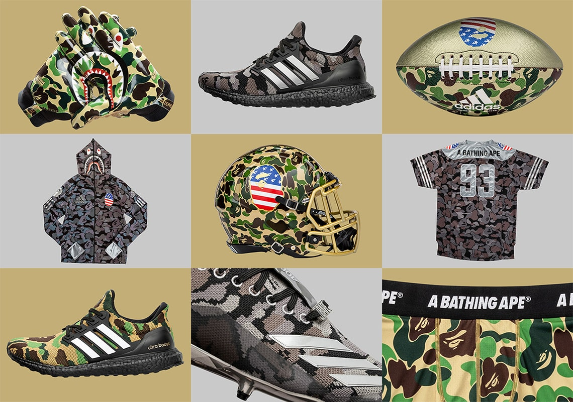 Where to Buy the BAPE x adidas Super Bowl Collection