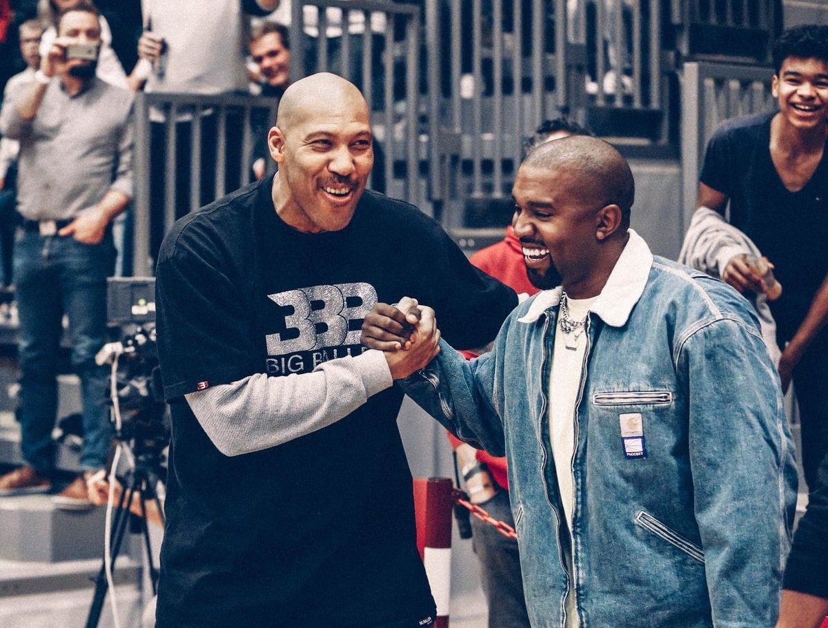 Is There a Big Baller Brand x YEEZY Collaboration on the way?