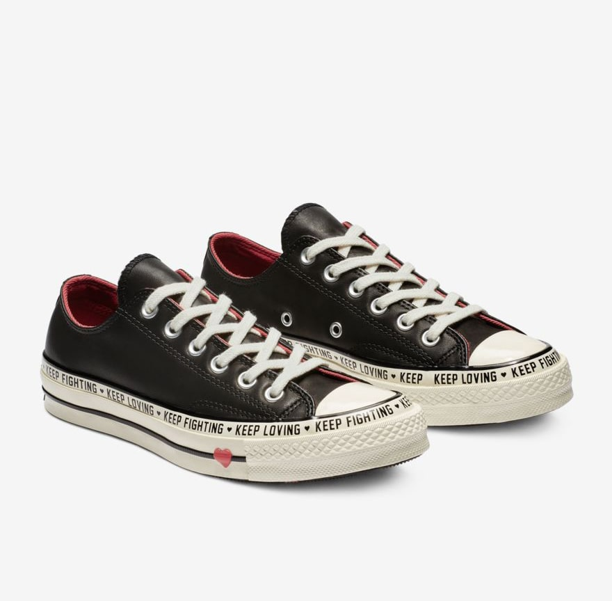 55cba5e9b604 Converse s Valentine s Day Chuck 70 Lows Send Special Messages ...