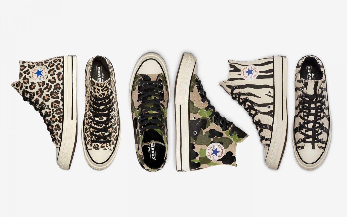 Converse Breaks Down Brain Dead's Chuck 70 Collaboration Into Three Shoes