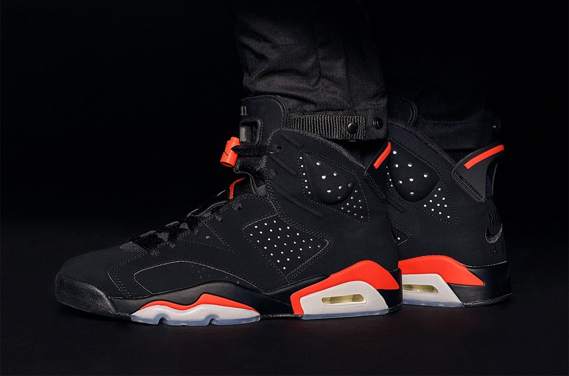 "Air Jordan 6 ""Infrared"" and Matching Apparel Releasing Early at KITH Locations"