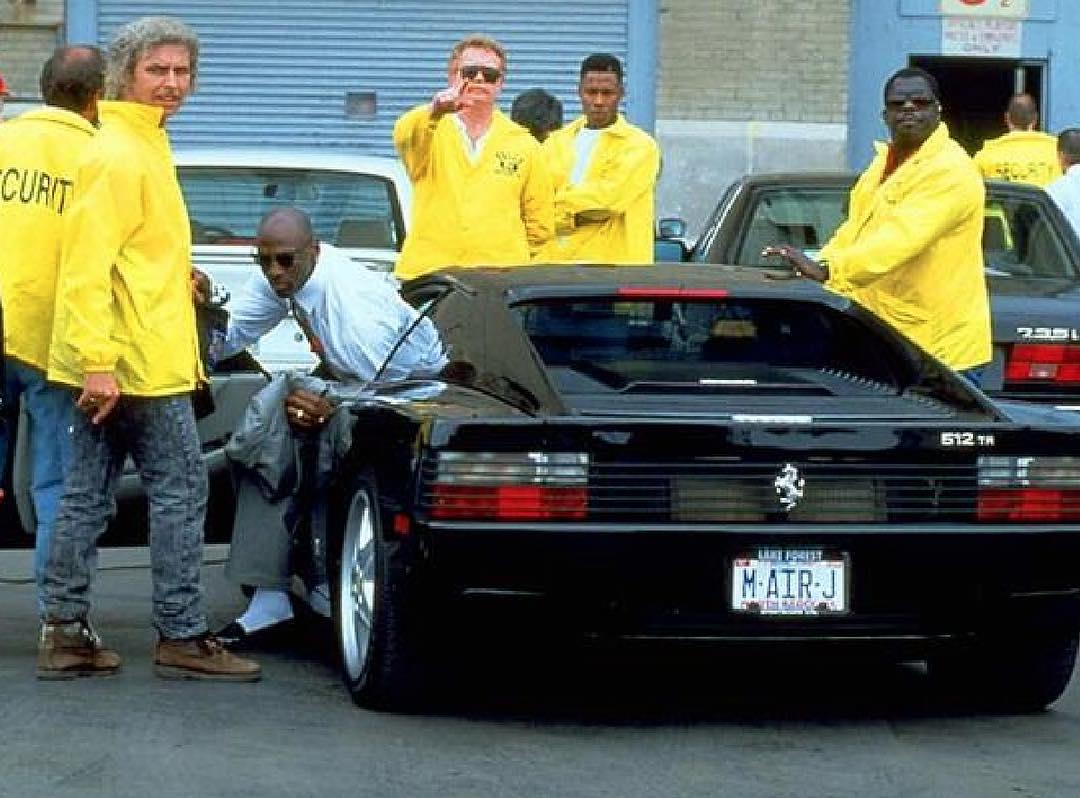 #MJmondays // How Michael Jordan Flexed His Ferrari for Serious Intimidation