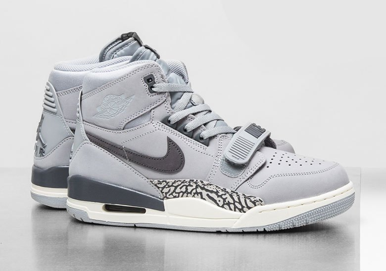 The New Jordan Legacy 312 Wears Wolf Grey