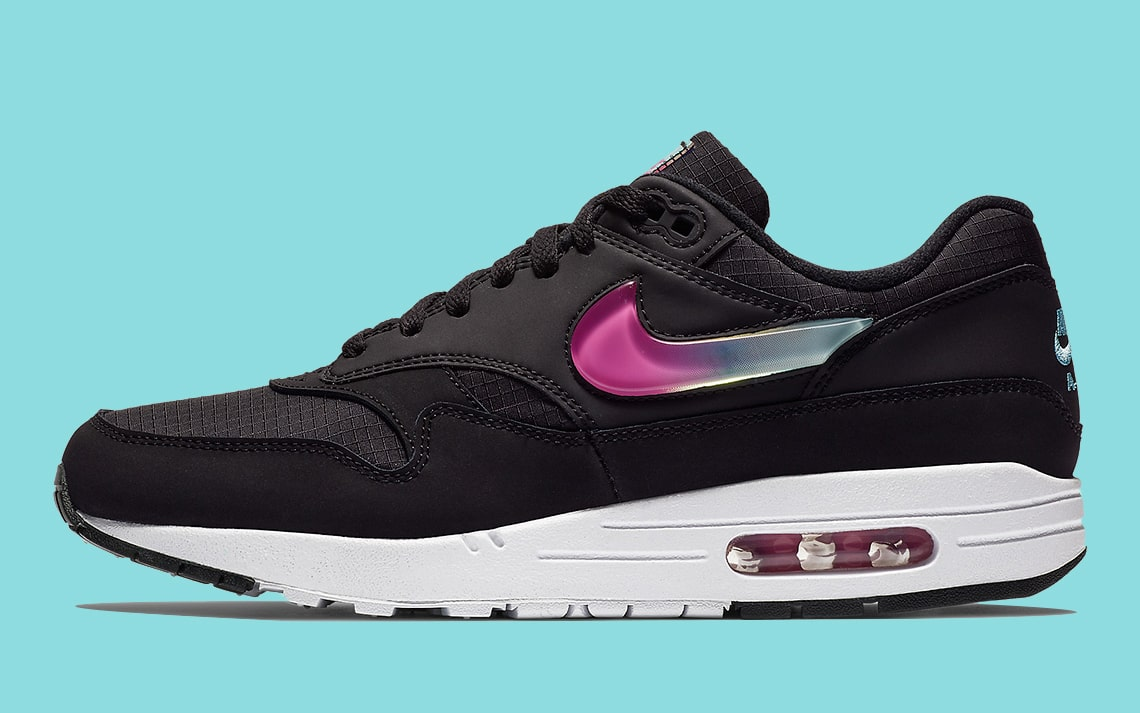 Available Now // Air Max 1 SE with Miami-Flavored Jelly Swoosh Logos