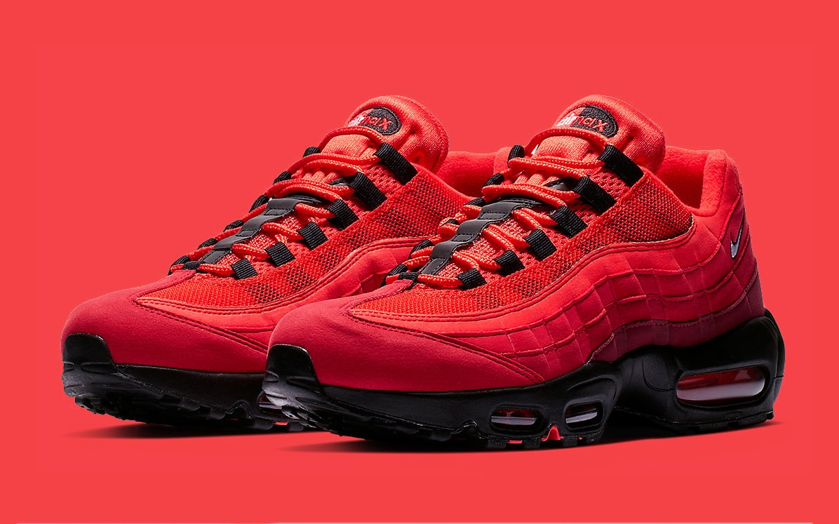 "check out b7106 e7bcc Available Now // Nike Air Max 95 OG ""Habanero Red"