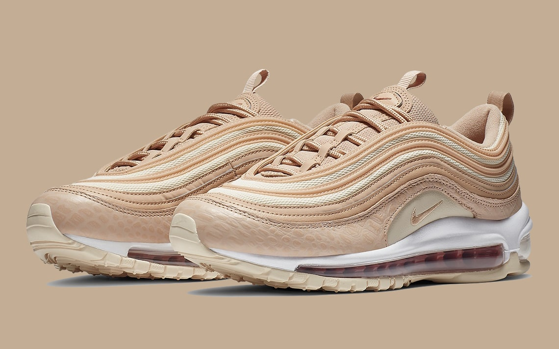 "The Air Max 97 ""Bio Beige"" Comes Complete with Luxurious Tumbled Leather"