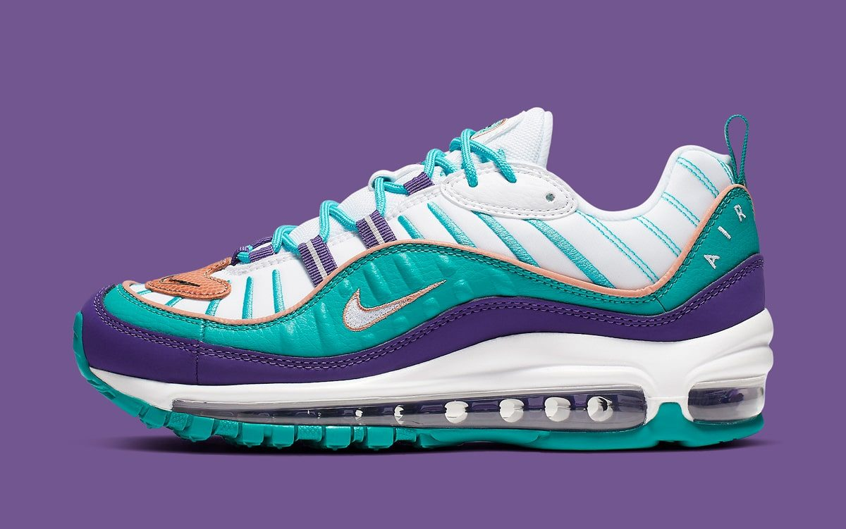 84a8d14c56 These Air Max 98s Come Inspired By Throwback Hornets Jerseys - HOUSE ...