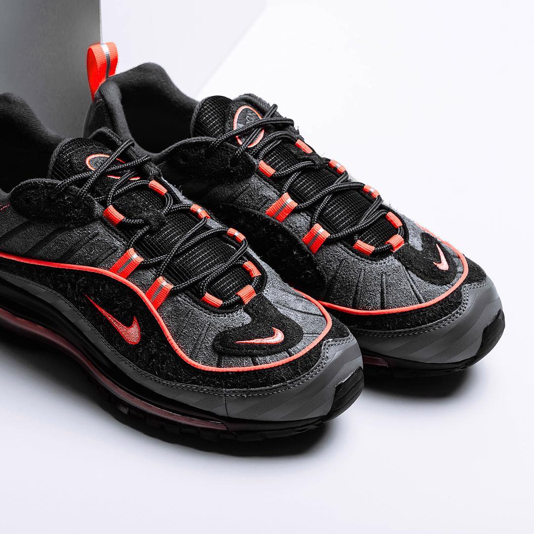 "detailed look 74cd6 dd809 The Nike Air Max 98 ""I-95"" Releases This Week - HOUSE OF ..."