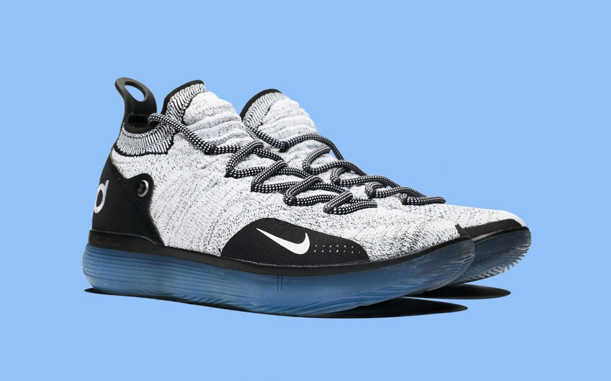 """d1c294a2449 Kevin Durant s Nike KD 11 """"Oreo"""