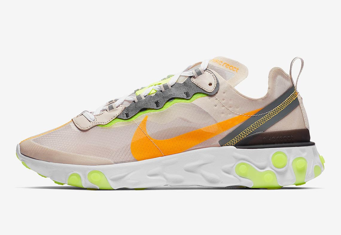 "Where To Buy The Nike React Element 87 ""Light Orewood"""
