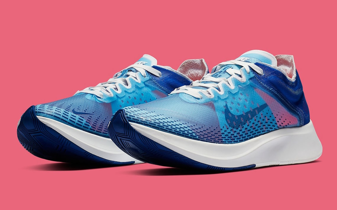 The New Nike Zoom Fly SP Really Pops