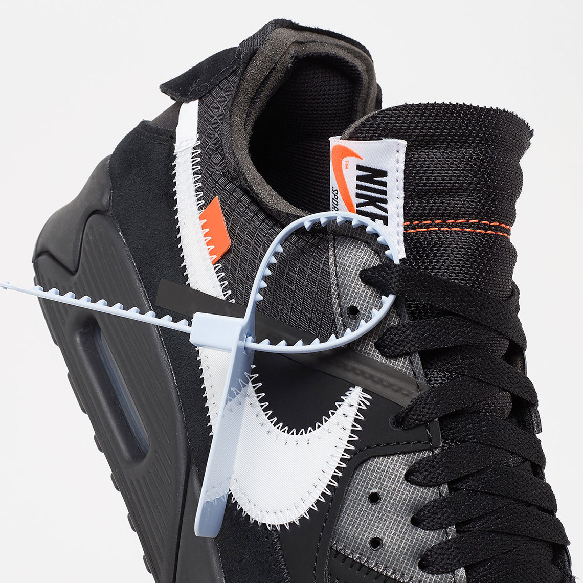 "Where To Buy The Off-White x Nike Air Max 90 ""Black"""