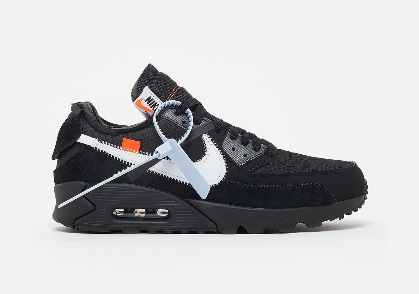 The OFF-WHITE x Nike Air Max 90 Release