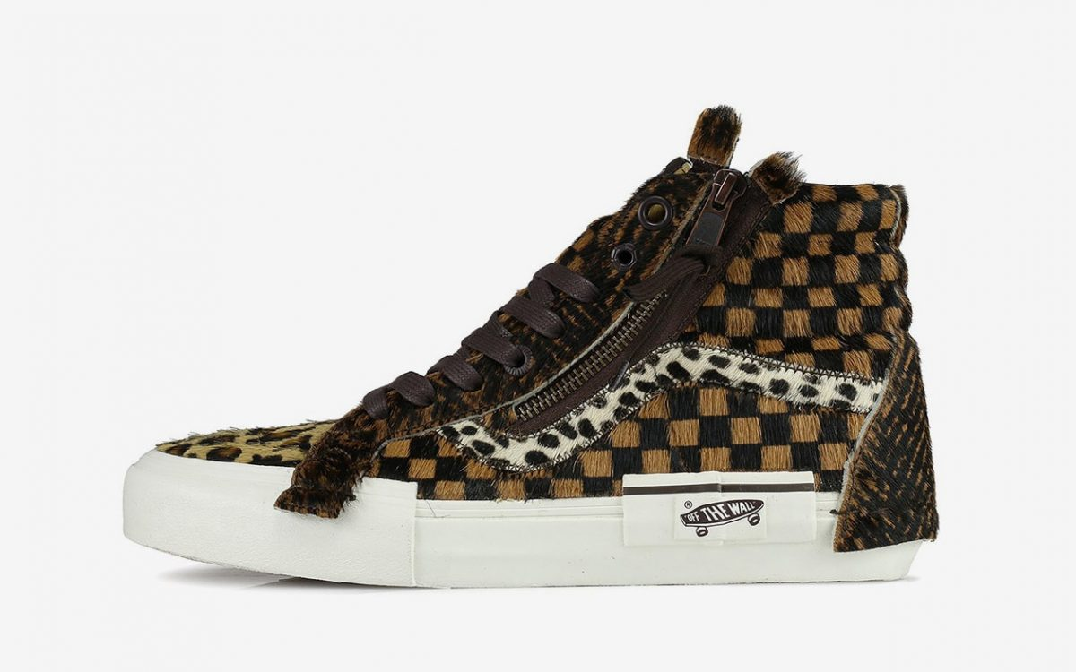 Vans Finds Their Animal Within on the Sk8-Hi Re-Issue