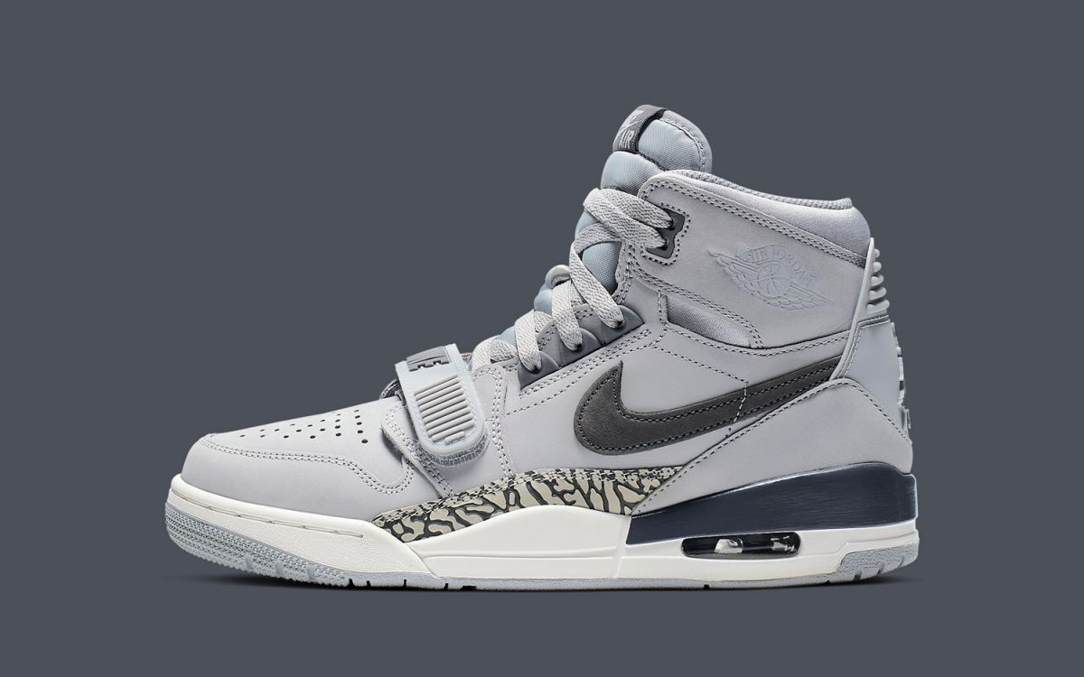 "The Jordan Legacy 312 ""Wolf Grey"" is FINALLY Available"