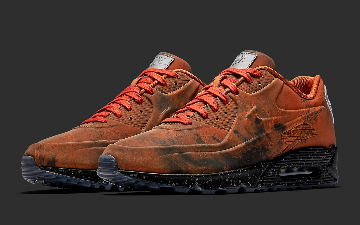 nike air max 90 mars landing on feet - photo #35