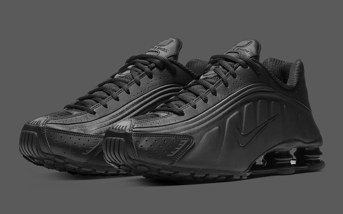 "The Nike Shox R4 ""Triple Black' Releases Tomorrow!"
