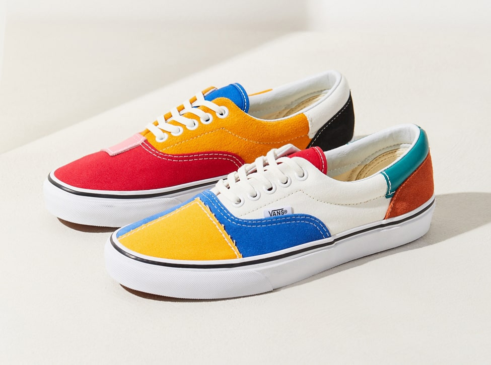 1ff58947032f Available Now    Colorful Cropped Vans Patchwork Era - HOUSE OF HEAT ...