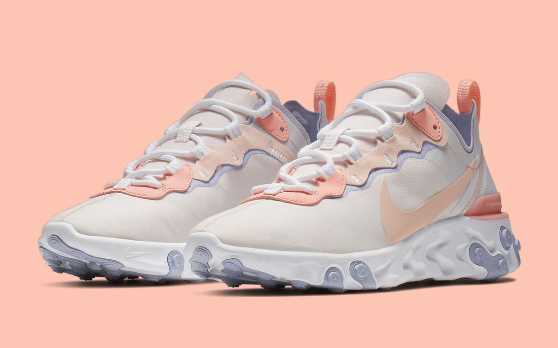 sale retailer b893e a5f94 The React Element 55 Gets Washed-Out in Coral