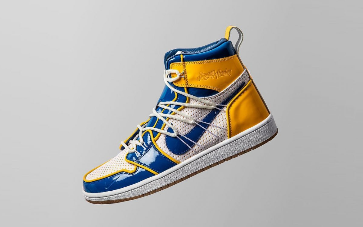 "Golden State Warriors Unveil Limited-Edition ""Championship"" Air Jordan 1 by The Shoe Surgeon"