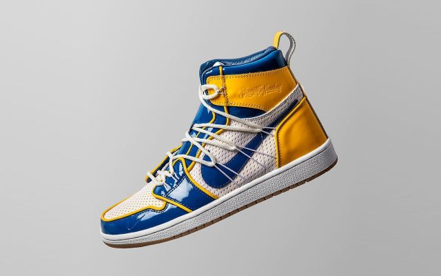 """Golden State Warriors Unveil Limited-Edition """"Championship"""" Air Jordan 1 by The Shoe Surgeon"""