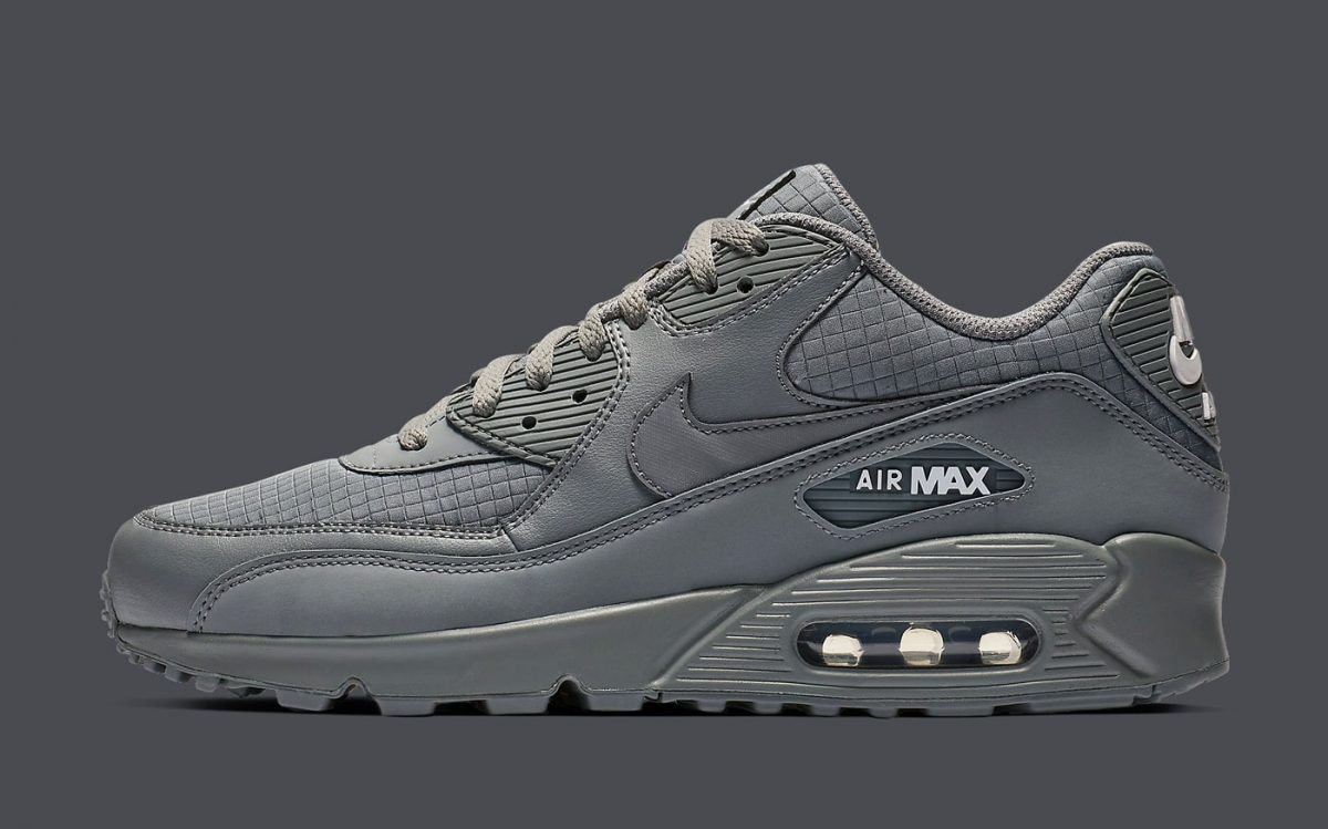 Available Now // Greyed-Out Nike Air Max 90 Essentials