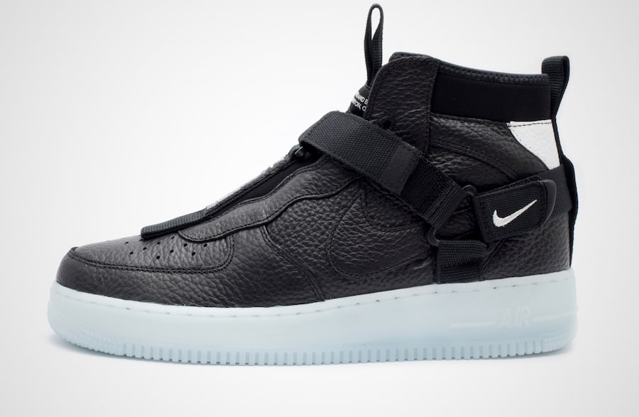Available Now Black Ice Air Force 1 Mid Utility House Of