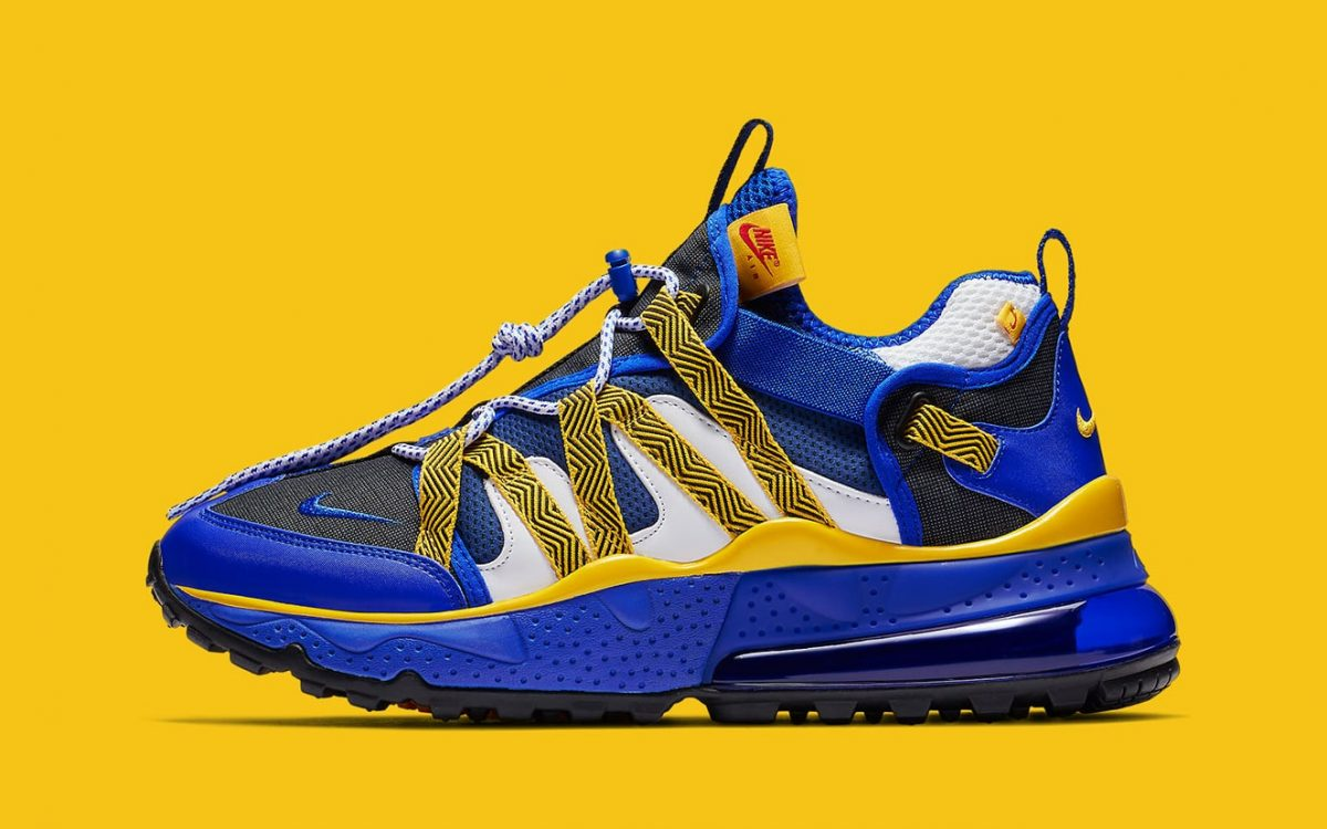 Available Now // Nike Air Max 270 Bowfin in Warriors Colors
