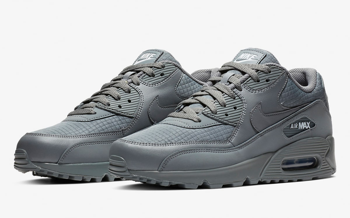 Available Now    Greyed-Out Nike Air Max 90 Essentials - HOUSE OF ... f5cbb0b8a