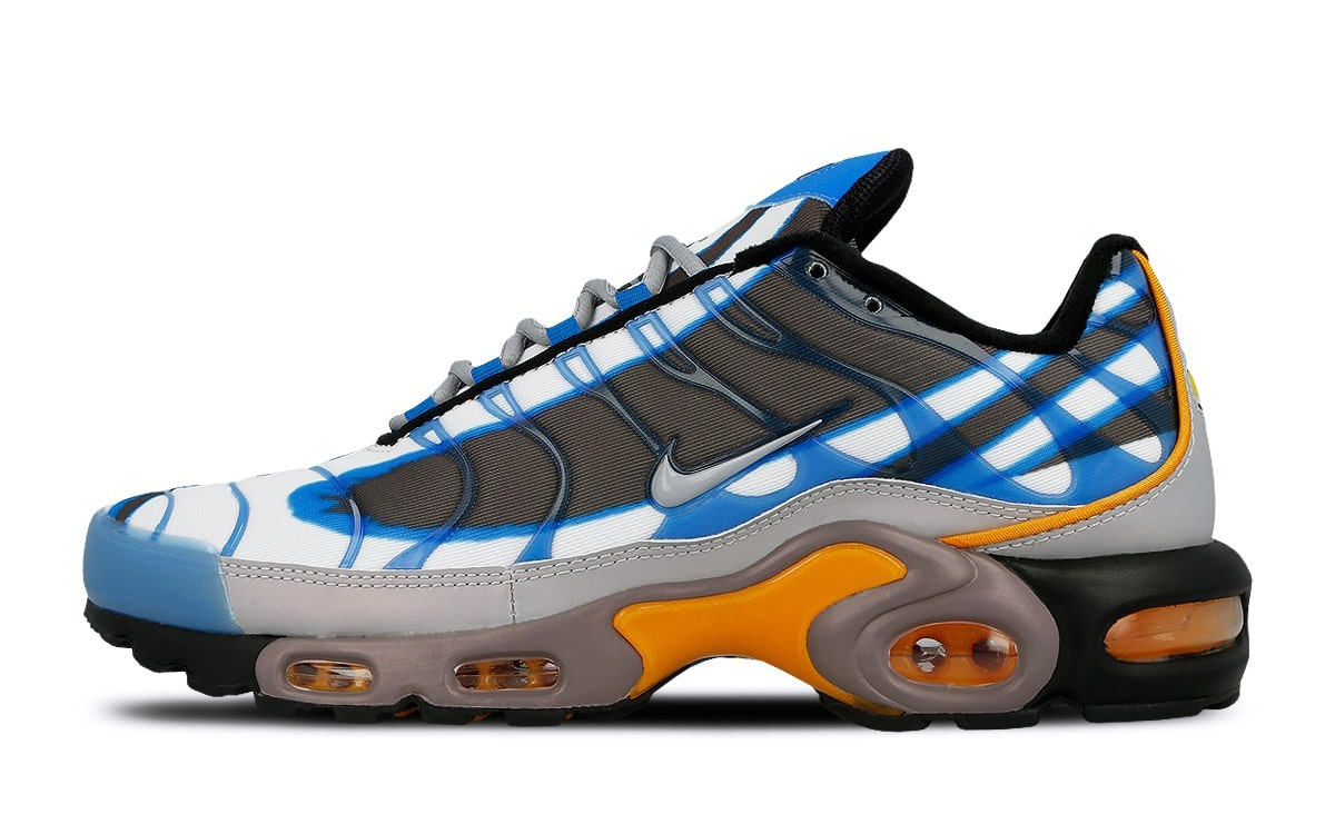 The Air Max Plus gets Draped in the