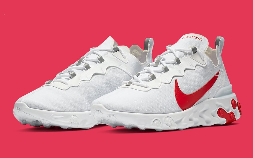 The React Element 55 Stays in Red-Hot Form!