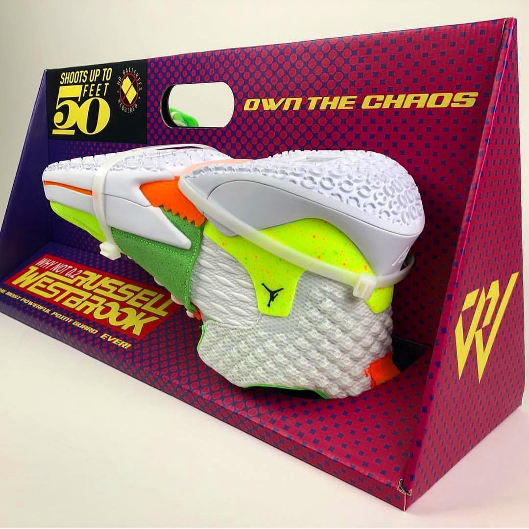 "Up Close with Russell Westbrook's ""Super Soaker"" Why Not Zer0.2 Promo Sample"