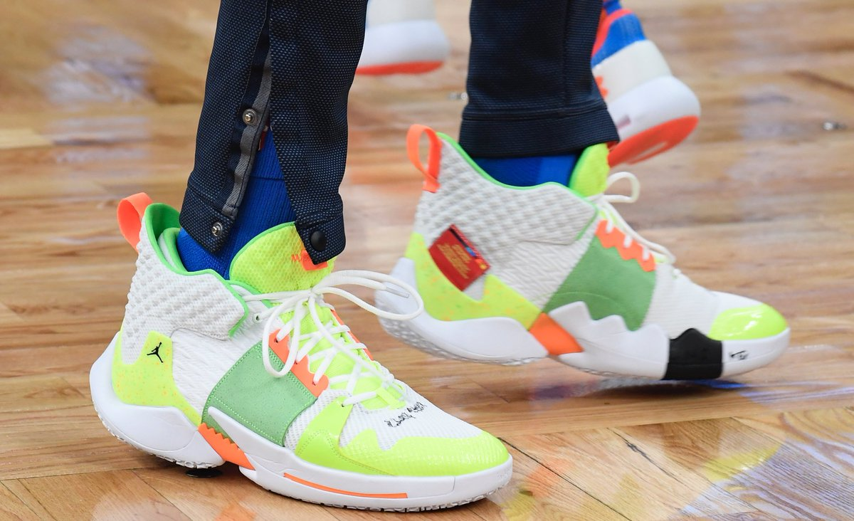 "Up Close with Russell Westbrook's ""Super Soaker"" Why Not ..."