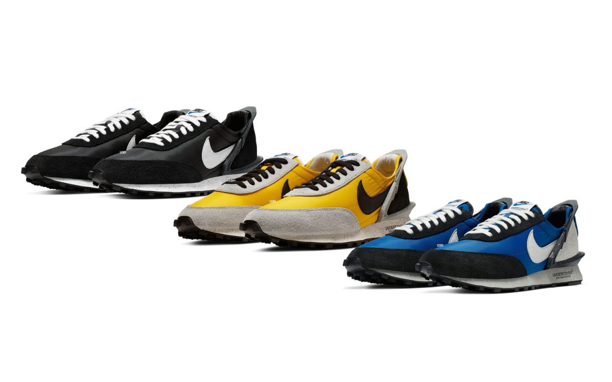 Official Looks at the Cirtron, Black and Blue Undercover x Nike Daybreaks