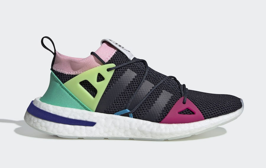 These New adidas Arkyns Look Like Licorice Allsorts
