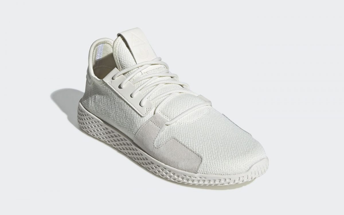 Pharrell's Tennis Hu Comes Through in Two Monochrome Makes
