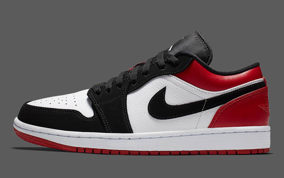 "8377f58ccfa5 Black Toe"" Air Jordan 1 Lows are Landing Soon - HOUSE OF HEAT ..."
