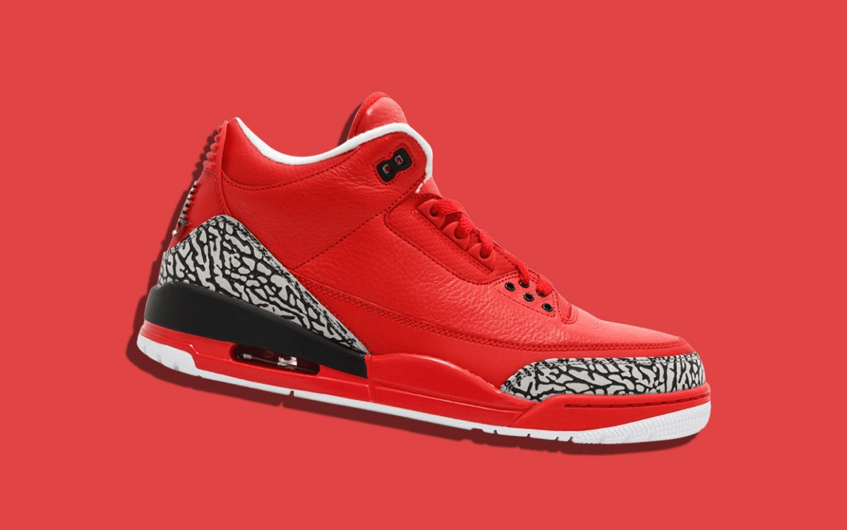 There's a Red Air Jordan 3 on the Way for 2020