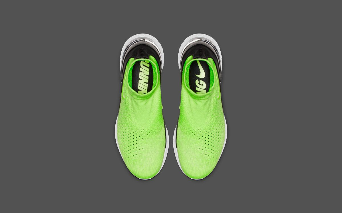 "1a7fa7b5d734 The Nike Rise React Flyknit ""Lime Blast"" is on the Way! - HOUSE OF ..."