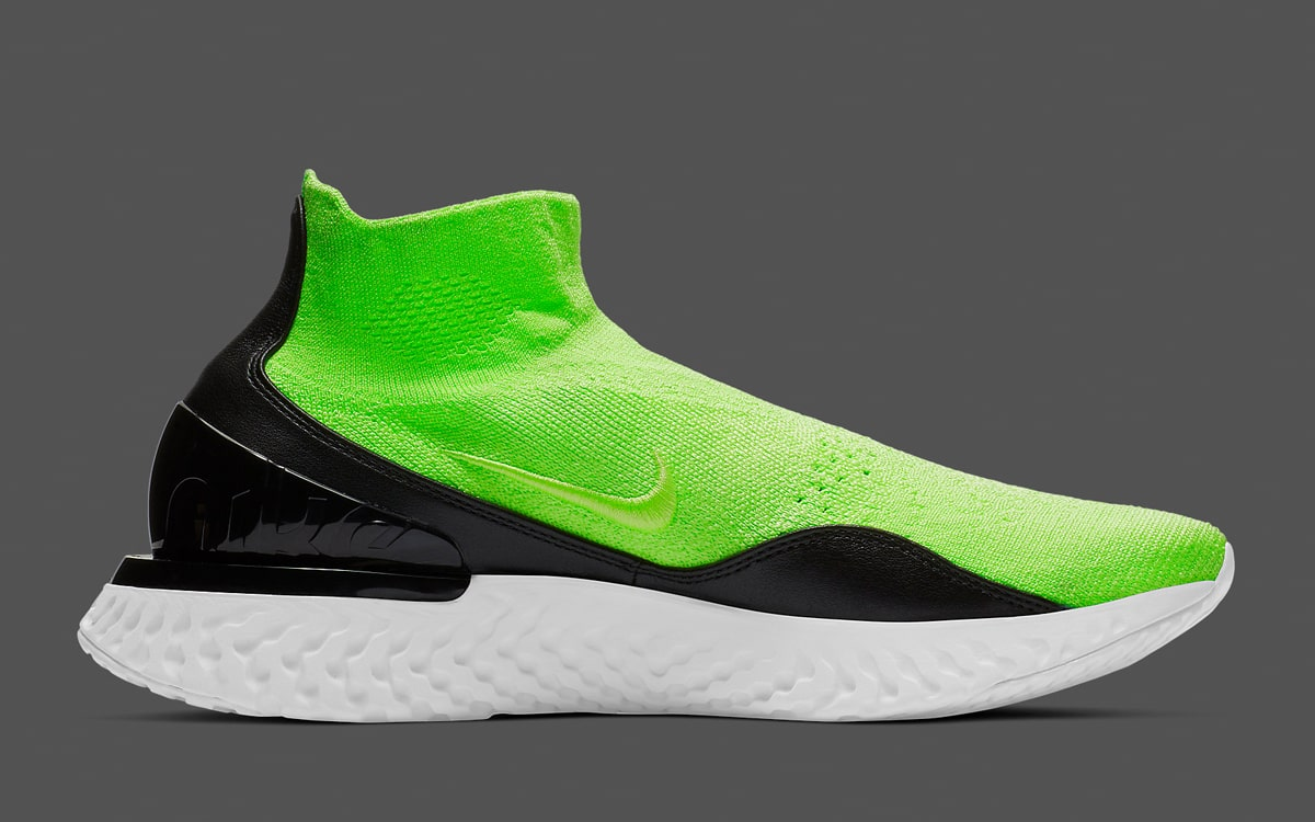"""89e98b61823b The Nike Rise React Flyknit """"Lime Blast"""" is on the Way! - HOUSE OF ..."""