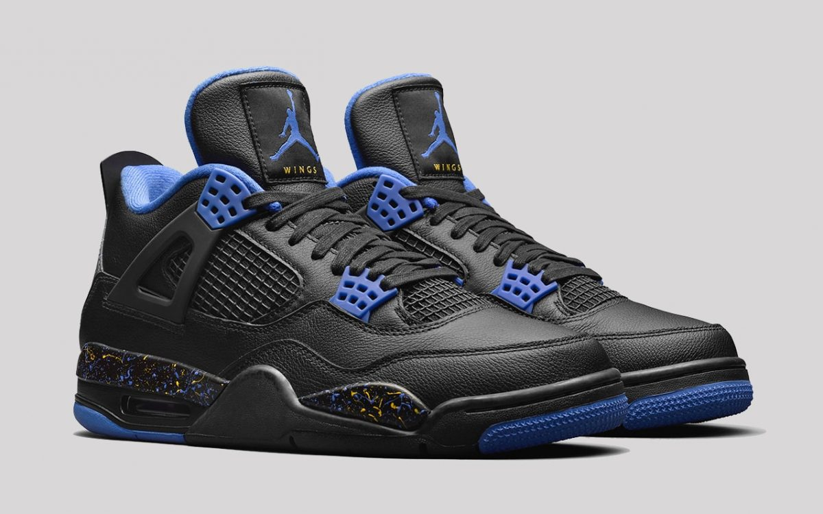 "Jordan Brand Presents a Special Edition ""Wings"" Air Jordan 4 to James Whitner"