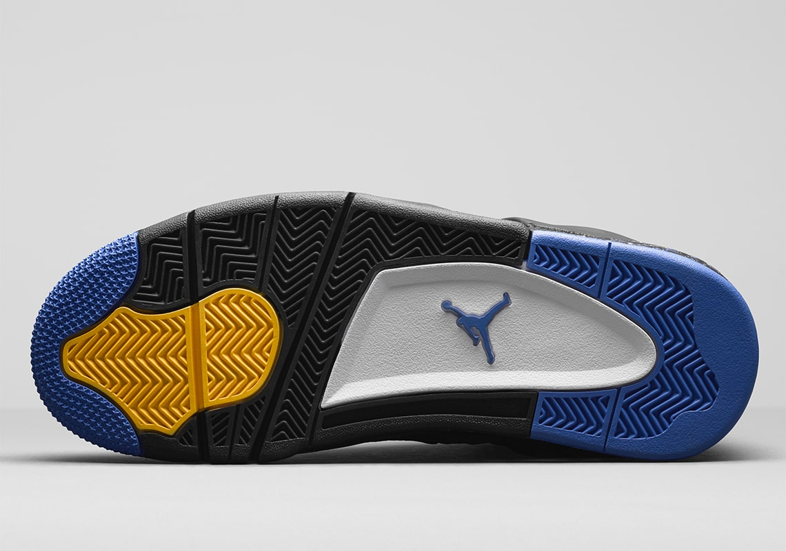 76e8b37c70e Featuring a black leather upper with a royal blue and yellow accented  color-blocking, this special edition will not release and will only be  presented to a ...