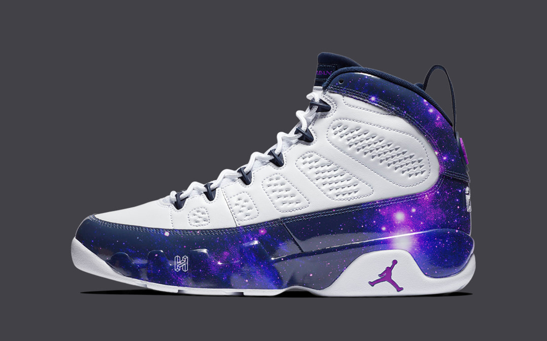 "sale retailer fef5d c947b Concept Lab // Air Jordan 9 ""Galaxy"