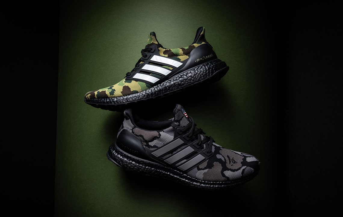 promo code 5bf03 8f443 Where to Buy Tomorrows BAPE x adidas Ultra BOOSTs