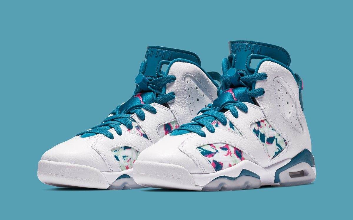 "Official Looks at the Air Jordan 6 GS ""Green Abyss"""