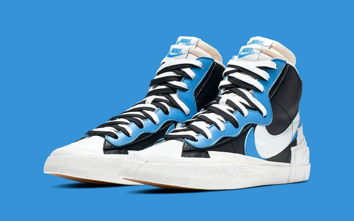 Where to Buy the Sacai x Nike Blazer Mids