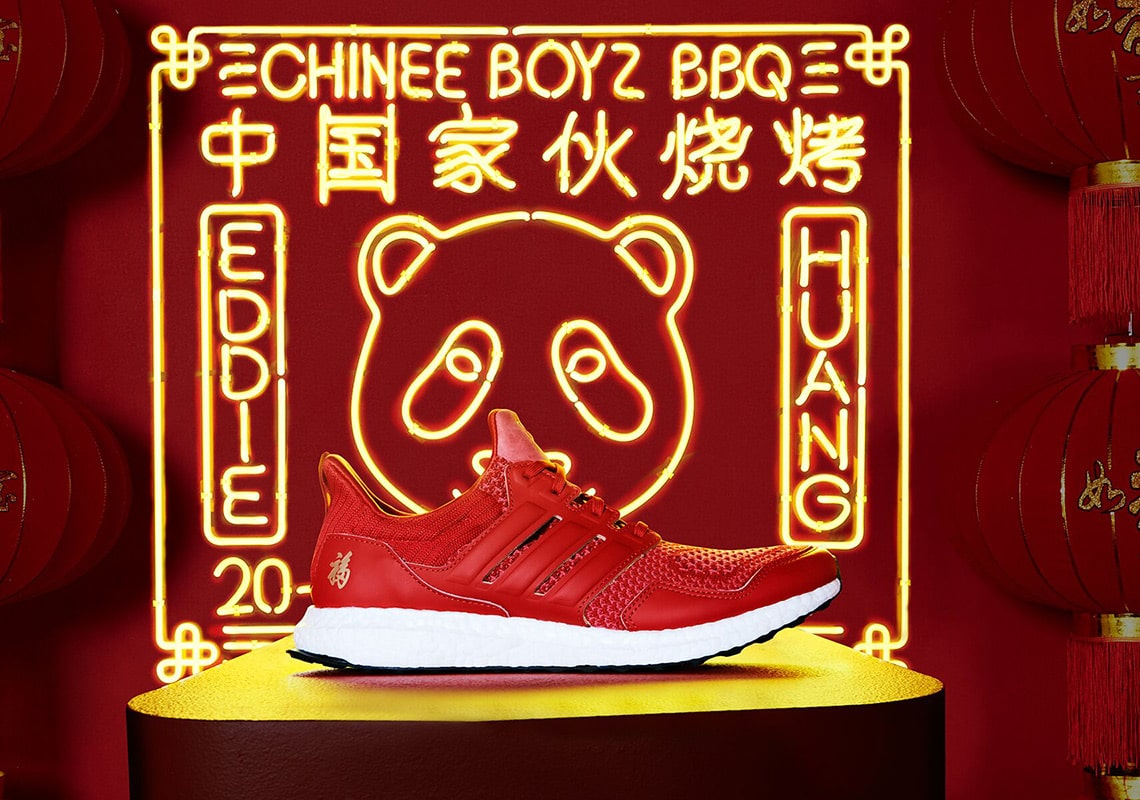 TV Chef Eddie Huang has Been Baking New BOOSTs for Chinese New Year