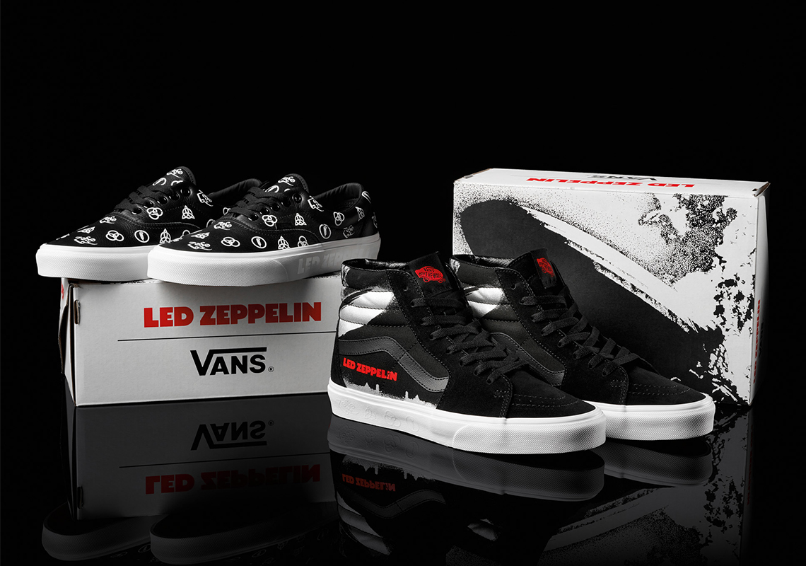 Led Zeppelin Celebrates 50th Anniversary with a Rockin' Vans Collaboration