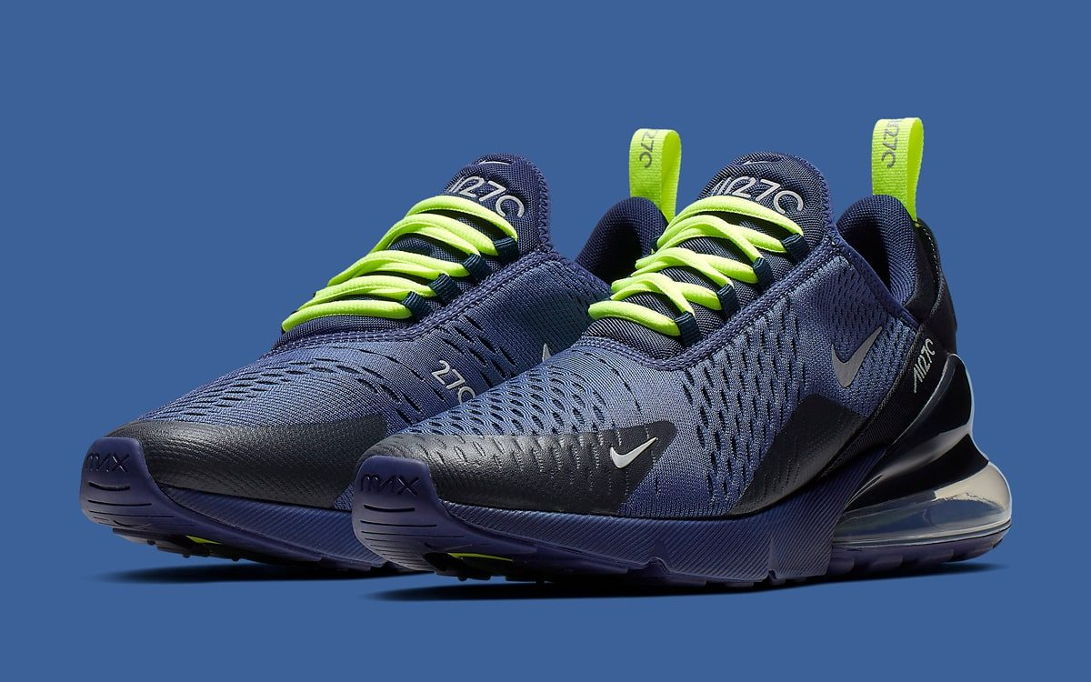 d667d77b62 This Air Max 270 is Made for Seattle Seahawks Supporters! - HOUSE OF ...